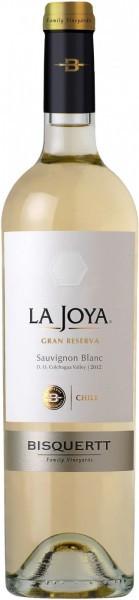 "Вино Bisquertt, ""La Joya"" Gran Reserva, Sauvignon Blanc, Colchagua Valley DO, 2013"