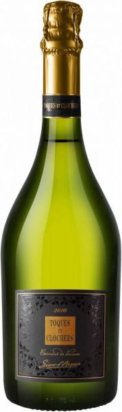 """Игристое вино """"Toques et Clochers"""" Limited Edition, Cremant de Limoux AOC, 2010"""