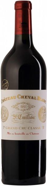 Вино Chateau Cheval Blanc, St-Emilion AOC 1-er Grand Cru Classe, 2012