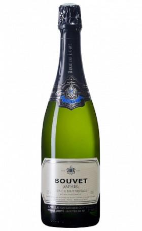 Игристое вино Bouvet-Ladubay Saphir Saumur Brut Vintage 2015 0.75л