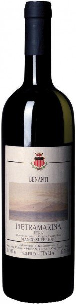 "Вино Benanti, ""Pietramarina"", Etna DOC Bianco Superiore, 2007"