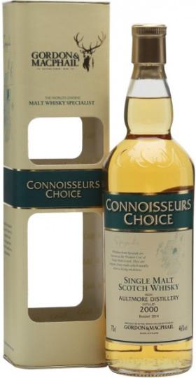 "Виски Aultmore ""Connoisseur's Choice"", 2000, gidt box, 0.7 л"
