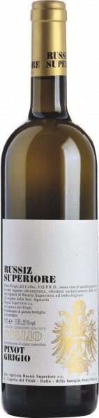 Вино Collio Pinot Grigio DOC, 2014