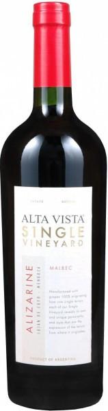 "Вино Alta Vista, Single Vineyard ""Alizarine"" Malbec, 2010"