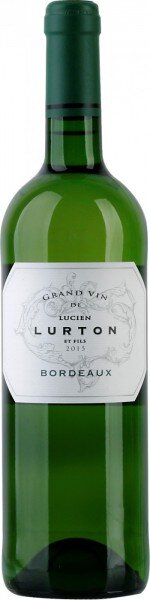 """Вино """"Grand Vin de Lucien Lurton et Fils"""" Blanc, Bordeaux AOC, 2013"""