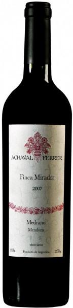 "Вино Achaval Ferrer, ""Finca Mirador"", Mendoza 2007"