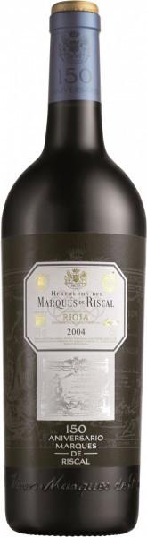"""Вино """"Marques de Riscal 150 Aniversario"""" Gran Reserva, Rioja DOC, 2004"""