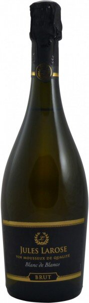 """Игристое вино """"Jules Larose"""" Blanc de Blancs Brut"""