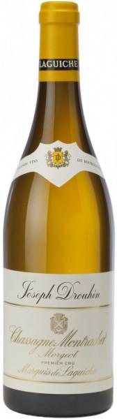 """Вино Chassagne-Montrachet Morgeot """"Marquis de Laguiche"""" AOC, 2011"""