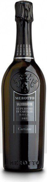 "Игристое вино Merotto, ""Cartizze"", Valdobbiadene Superiore di Cartizze DOCG"