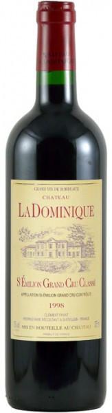 Вино Chateau la Dominique St-Emilion Grand Cru Classe AOC, 1998