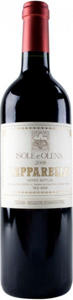 """Вино Isole e Olena, """"Cepparello"""", Toscana IGT, 2008"""
