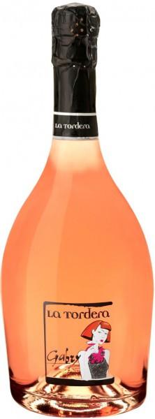 """Игристое вино La Tordera, """"Gabry"""" Rose Extra Dry, Vino Spumante"""