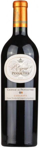 """Вино """"L'Esprit de Pennautier"""", Cabardes AOC, 2011"""