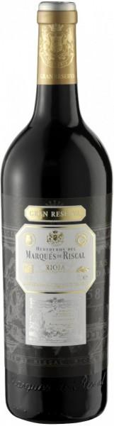 """Вино """"Herederos del Marques de Riscal"""" Rioja DOC Gran Reserva, 2006"""