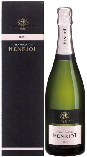 Шампанское Henriot Brut Rose with box