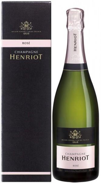 Шампанское Henriot Brut Rose with box