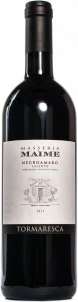 "Вино ""Masseria Maime"" Negroamaro, Salento IGT, 2011"