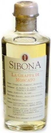 Граппа Sibona, Grappa Moscato, 0.5 л