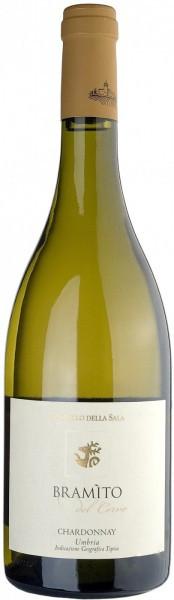 "Вино ""Bramito del Cervo"" Chardonnay, Umbria IGT, 2013"