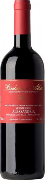 """Вино Alessandria Gianfranco, Barbera d'Alba """"Vittoria"""" DOC, 2009"""