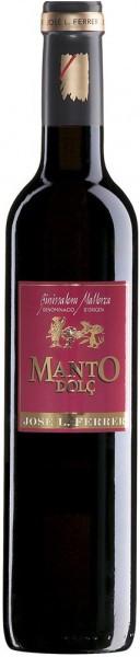 "Вино Jose L. Ferrer, ""Manto"" Dolc, Binissalem-Mallorca DO, 2011, 0.5 л"