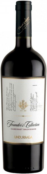 """Вино Undurraga, """"Founders Collection"""" Cabernet Sauvignon, 2009"""