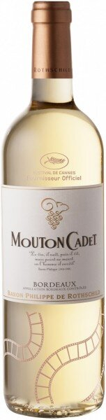 "Вино ""Mouton Cadet"" Bordeaux AOC Blanc, Limited Edition Cannes, 2015"