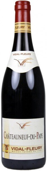 Вино Vidal-Fleury, Chateauneuf-du-Pape AOC Rouge, 2010