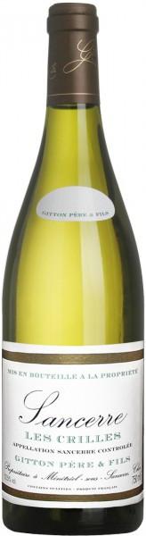 "Вино Gitton Pere & Fils, ""Les Crilles"", Sancerre AOC, 2014"