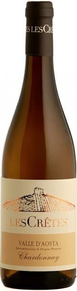 Вино Les Cretes, Chardonnay, 2014