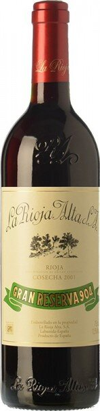 "Вино ""Gran Reserva 904"", Rioja DOC, 2001"