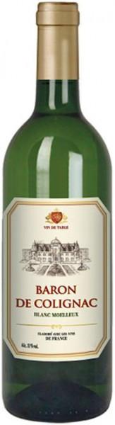 """Вино """"Baron de Colignac"""" Blanc Moelleux"""