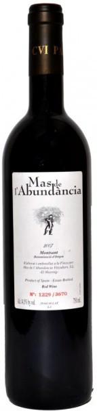 Вино Mas de l'Abundancia, Montsant DO, 2007