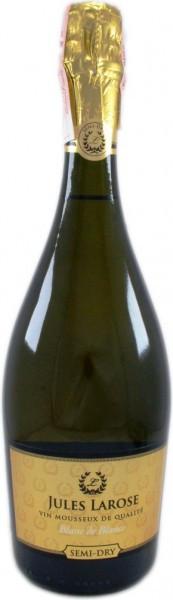 "Игристое вино ""Jules Larose"" Blanc de Blancs Semi-Dry"