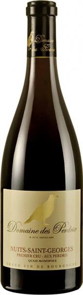 """Вино Domaine des Perdrix, Nuits-Saint-Georges Premier Cru """"Aux Perdrix"""", 2008"""