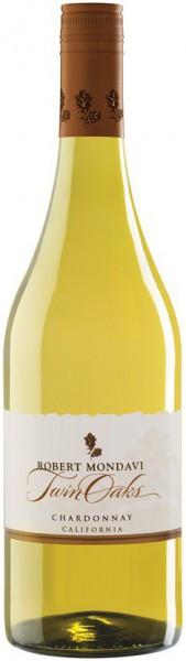 """Вино Robert Mondavi, """"Twin Oaks"""" Chardonnay"""