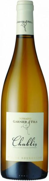 Вино Domaine Garnier & Fils, Chablis AOC, 2015, 0.375 л