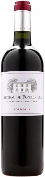 """Вино """"Chateau de Fontenille"""" Rouge, Bordeaux AOC, 2011, 1.5 л"""