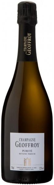 "Шампанское Rene Geoffroy, ""Purete"" Brut Nature Premier Cru, Champagne AOC"