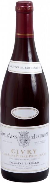 "Вино Domaine Baron Thenard, Givry Premier Cru ""Clos Saint-Pierre"", 2012"