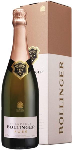 Шампанское Bollinger, Rose Brut, gift box