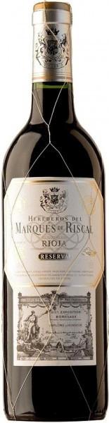 """Вино """"Herederos del Marques de Riscal"""" Reserva, Rioja DOC, 2016"""