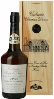 Кальвадос Coeur de Lion Calvados Pays d`Auge 1965, wooden box, 0.7 л