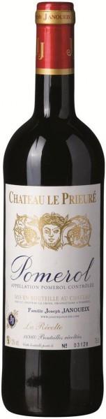 Вино Chateau Le Prieure, Pomerol AOC, 2010