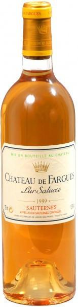 Вино Chateau de Fargues, Sauternes AOC 1999