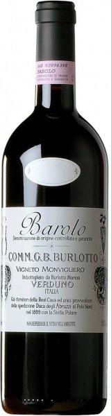 """Вино G.B. Burlotto, Barolo """"Vigneto Monvigliero"""" DOCG, 2009"""