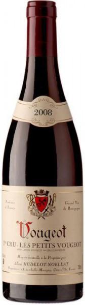 """Вино Domaine Hudelot-Noellat, Vougeot 1-er Cru AOC """"Les Petits Vougeot"""", 2008"""