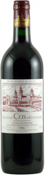 Вино Chateau Cos d'Estournel, Saint-Estephe AOC 2-er Grand Cru Classe, 1986
