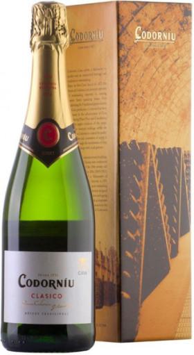 "Игристое вино ""Codorniu"" Clasico Brut, gift box"